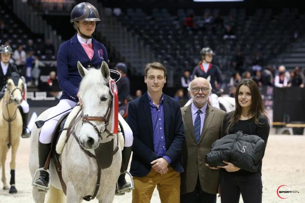 Super As Poney Elite - Trophée GRAND PRIX MAGAZINE - Alice LAINE avec Simili de la Buqueuse* Litiere