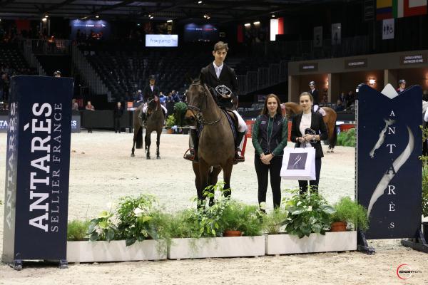 Championnat ANTARES des Partenaires n°3 (1,15) - Gautier Lenoir avec Tamise de Rampan