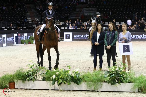 Championnat ANTARES des Partenaires n°3 (1,15) - Ophélie Chiffolleau avec Tismy des Sablons
