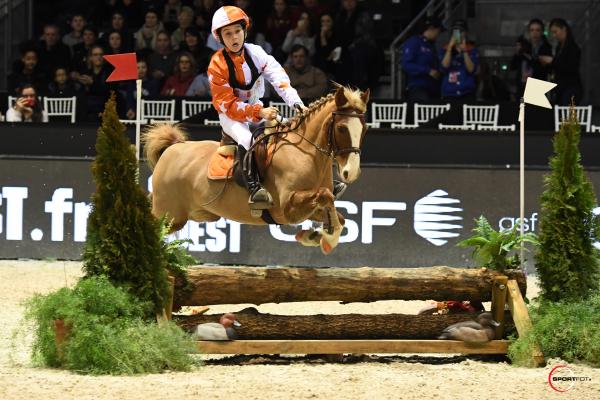Derby Poneys - Antoine Renoult avec Lilla Smulan
