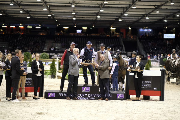 CAIW - FEI World Cup™ Driving Final - Remise des Prix