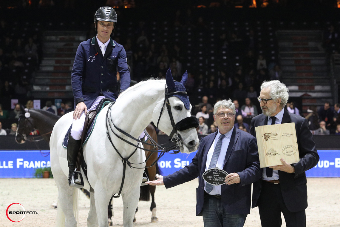 CSIYH 1* – Bordeaux Young Sires Masters N°1 > 2ème place - Denis Lynch & Chateau Petrus
