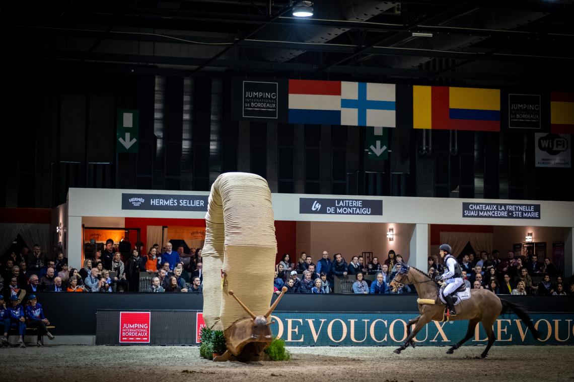 DEVOUCOUX Indoor Derby – 1ère place – Michael Jung et Corazon