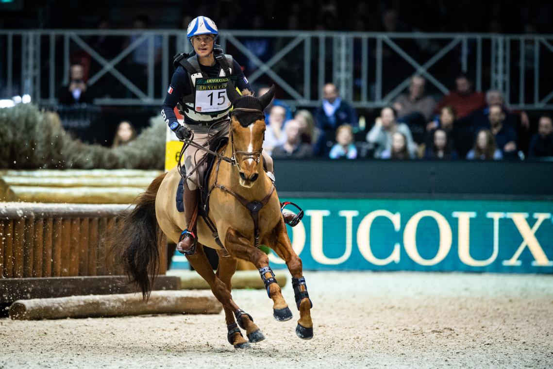 DEVOUCOUX Indoor Derby – 2ème place – Karim Florent Laghouag et Punch de l'Esques