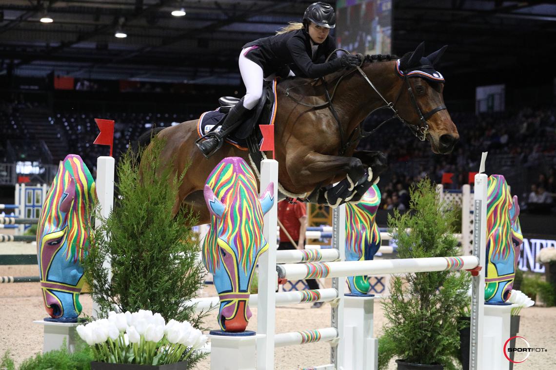 Championnat ANTARES des Partenaires – Epreuves individuelles silver – 3éme place - Ophelie Chiffolleau et Tismy des Sablons