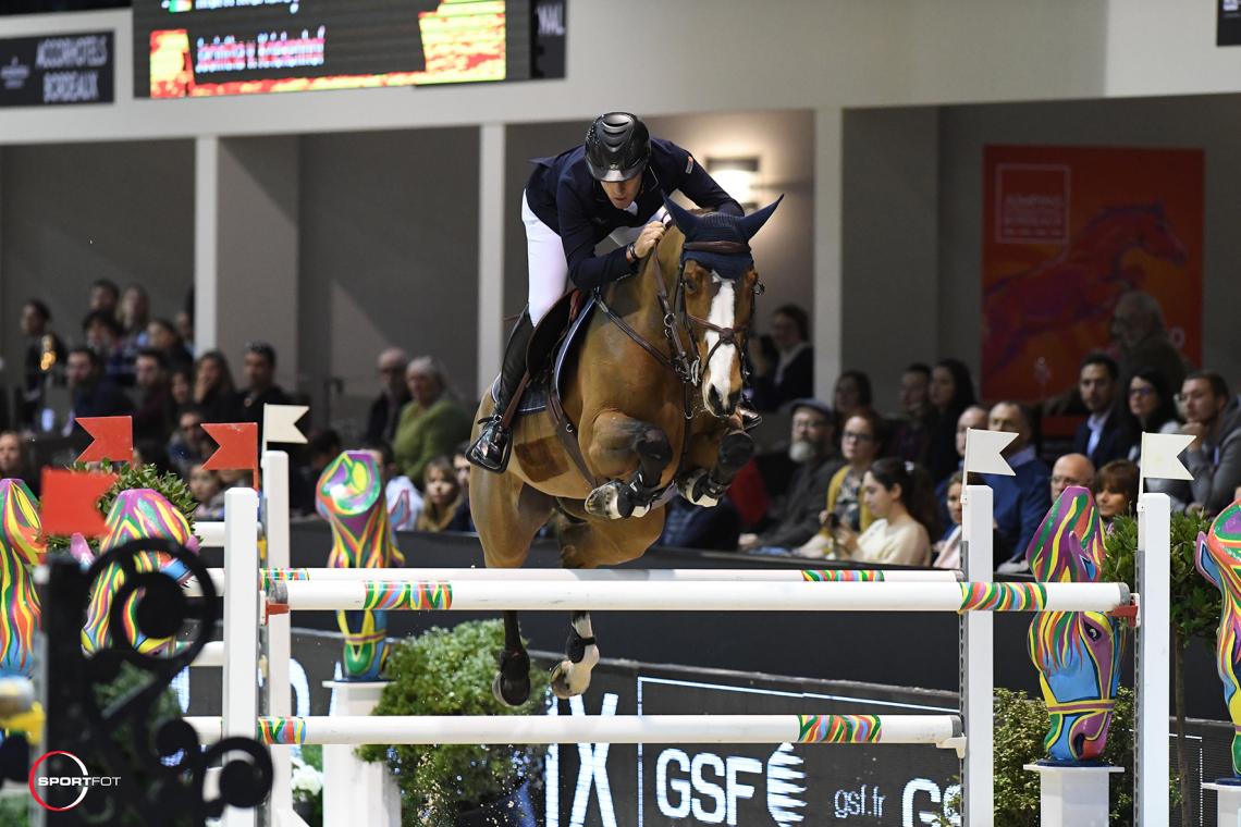 CSI5*W – Prix HORSE IMMO – 1ère place - Mark McAuley et Jacintha v. Kriekenhof
