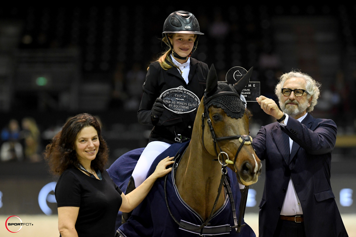 Super As Poney Elite by EQUITHEME - Grand Prix Excellence – 1ère place - Jeanne Hirel et Armene du Costilg