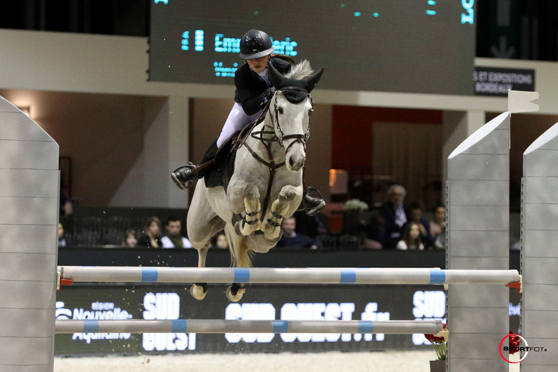 Super As Poney Elite by EQUITHEME - Grand Prix Excellence – 2ème place - Emma Meric et Venise des Islots