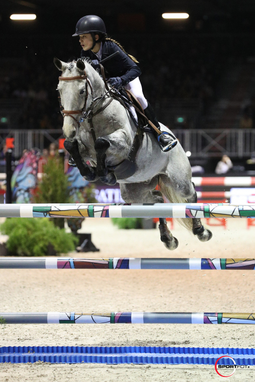 Super As Poney Elite by EQUITHEME - Grand Prix Excellence – 3ème place - Emma Koltz et Baluche de la Bauche