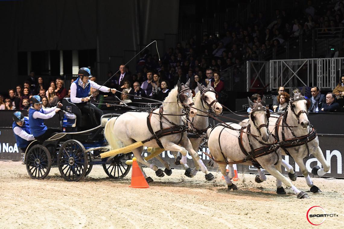 FEI DRIVING WORLD CUP™ FINAL 1ere MANCHE – 1ère place – Chardon, Bram