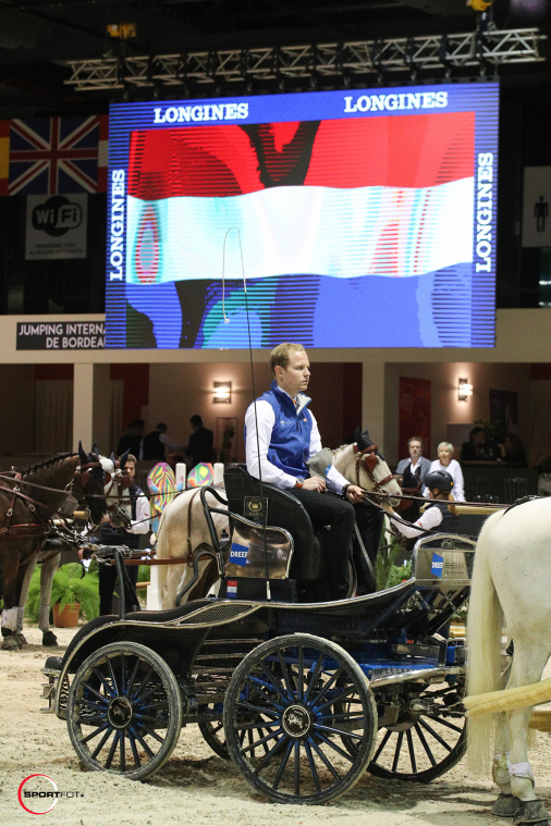 FEI DRIVING WORLD CUP™ FINAL 1ere MANCHE – 1ère place – Chardon, Bram