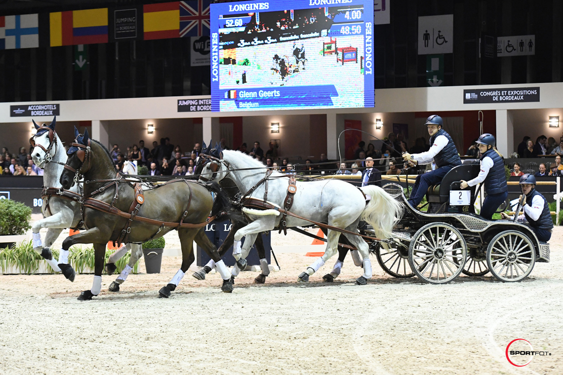 FEI DRIVING WORLD CUP™ FINAL 1ere MANCHE – 3ème place – Geerts, Glenn