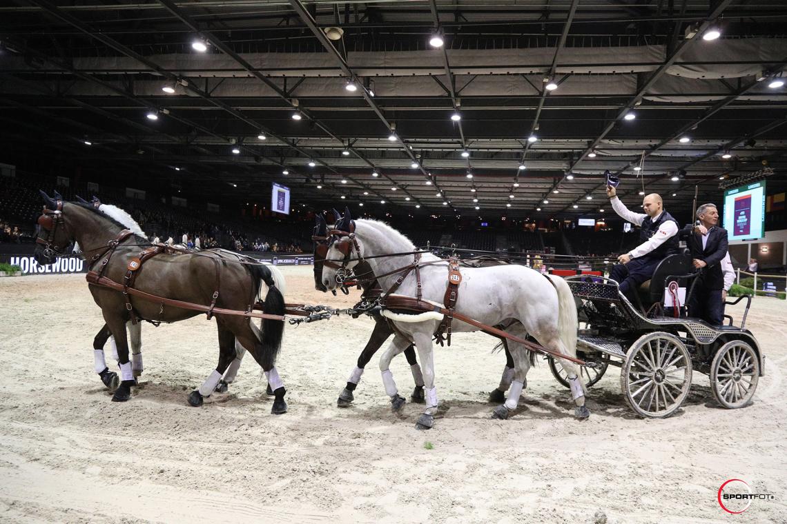 FEI DRIVING WORLD CUP™ FINAL 1ere MANCHE – 3ème place – Geerts, Glenn