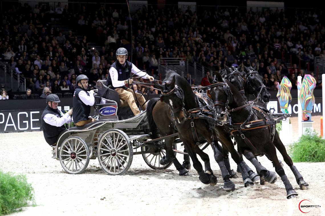 FEI DRIVING WORLD CUP™ FINAL 1ere MANCHE – 6ème place – Aillaud, Benjamin