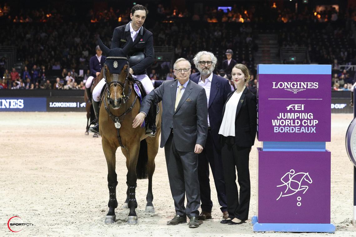 LONGINES FEI JUMPING WORLD CUP™ by BORDEAUX EVENTS – 3ème place – Eduardo Alvarez Aznar et Rokfeller de Pleville Bois Margot