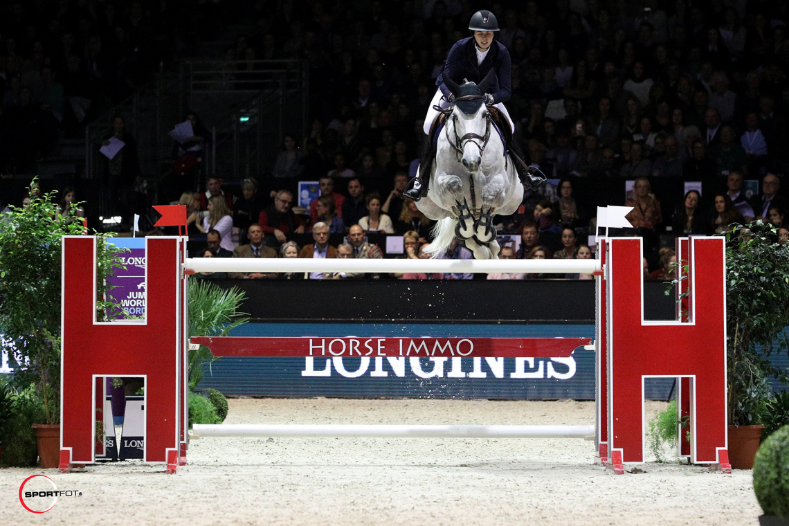 LONGINES FEI JUMPING WORLD CUP™ by BORDEAUX EVENTS – 5ème place - Marie Valdar Longem et Si la Sol de Greenbay Z