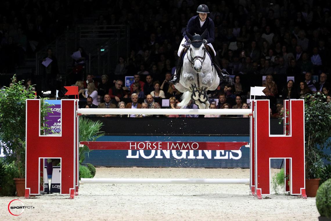 LONGINES FEI JUMPING WORLD CUP™ by BORDEAUX EVENTS – 5ème place - Marie Valdar Longem et Si la Sol de Greenbay Z