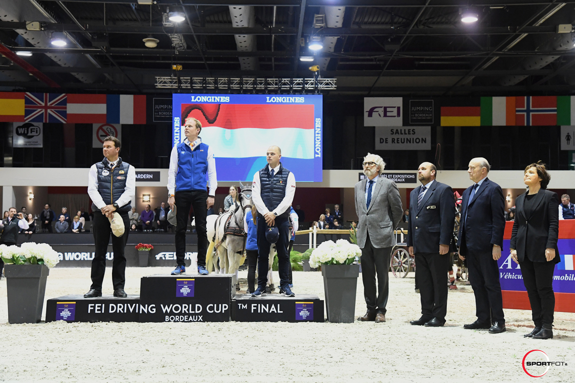 CAIW Final - FEI Driving World Cup™ FINAL - Podium