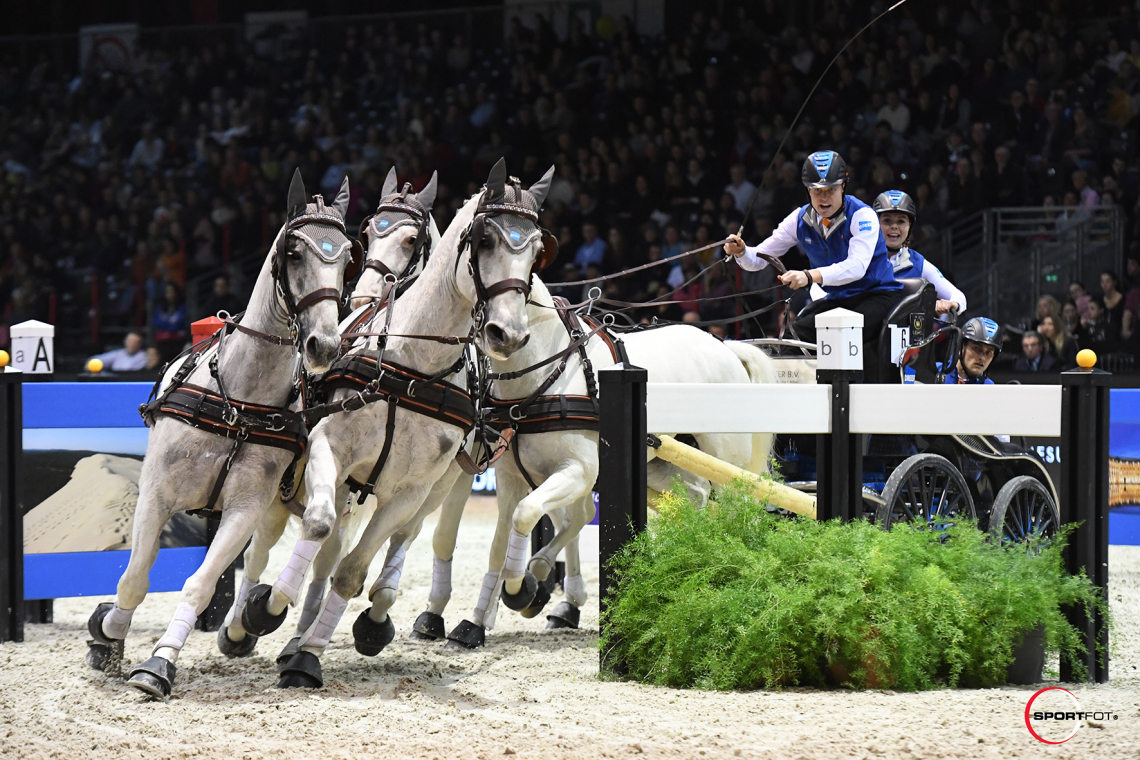 CAIW FINAL n°2 – FEI Driving World Cup™ FINAL – 1ère place – Chardon, Bram