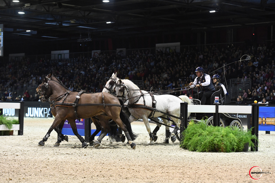 CAIW FINAL n°2 – FEI Driving World Cup™ FINAL – 2ème place – de Ronde, Koos