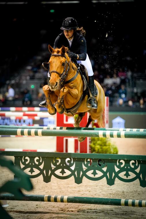 Super AS - Grand Prix Excellence - 2ème place  ▶︎ Agathe Masquelier avec Alia des Cosses