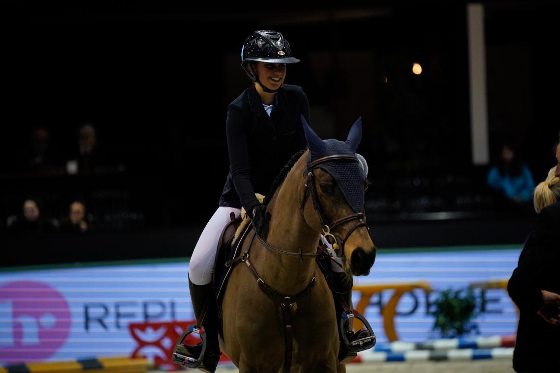 Super AS - Grand Prix Excellence - 3ème place  ▶︎ Louise Sadran avec United des Islots
