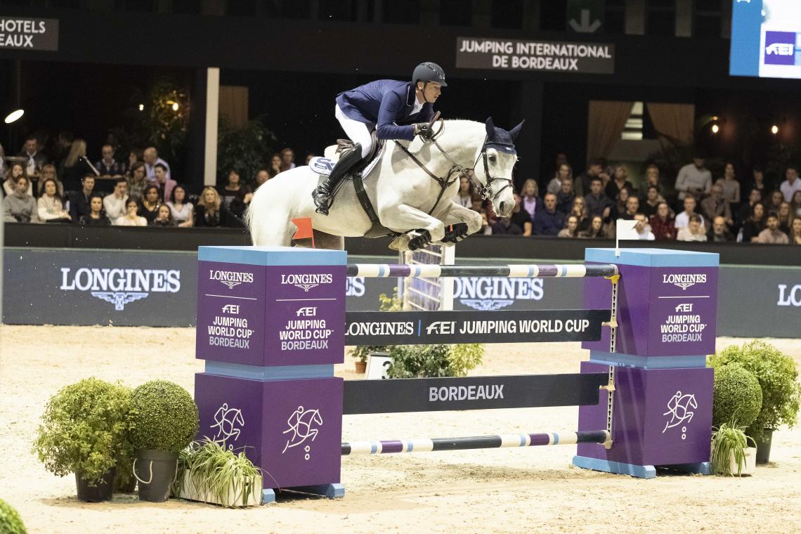 LONGINES FEI JUMPING WORLD CUP™ - 2ème place - Daniel Deusser avec Jasmien v. Bisschop