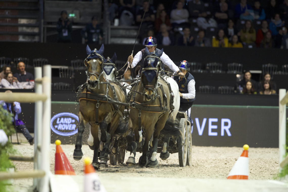 CAIW FINAL n°2 - FEI DRIVING WORLD CUP™ FINAL – 2ème place - Koos de Ronde