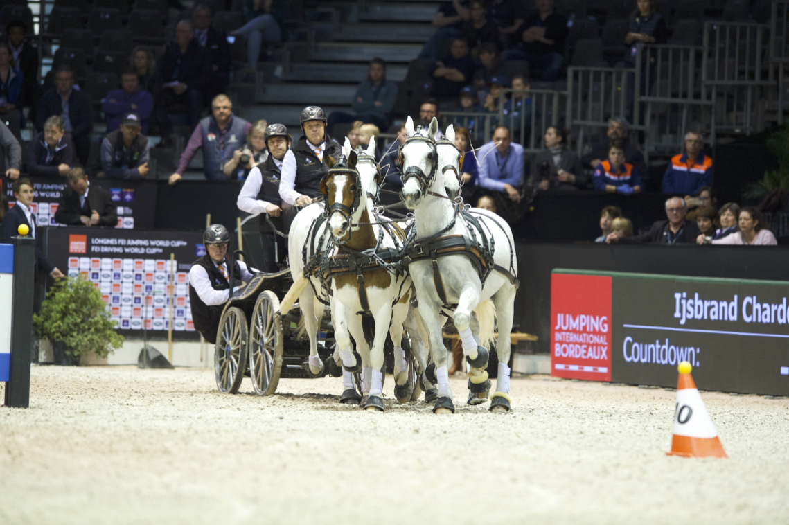 CAIW FINAL n°2 - FEI DRIVING WORLD CUP™ FINAL – 3ème place - Ijsbrand Chardon