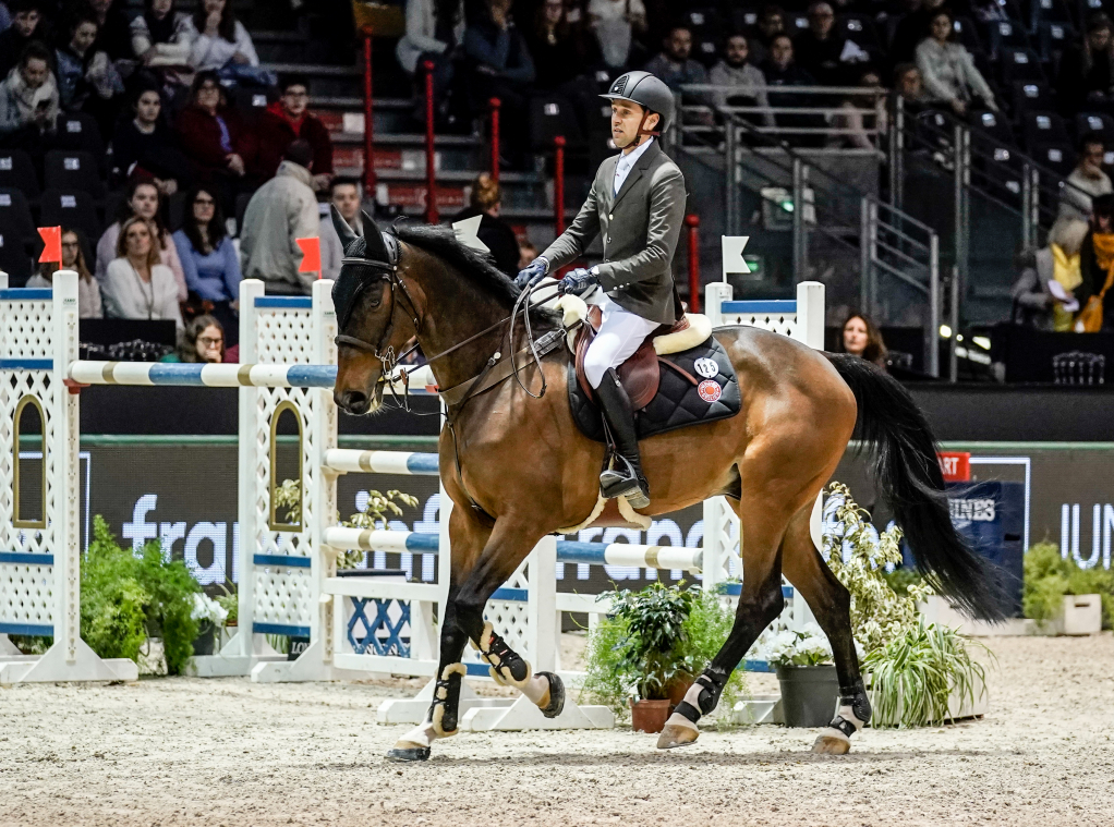 CSI5*W n°5 - Prix France INFO France BLEU - 2ème place - Simon Delestre et Qopilot Batilly Z