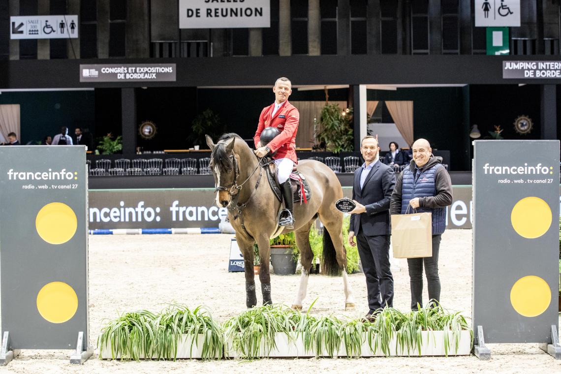 CSI5*W n°5 - Prix France INFO France BLEU - 3ème place - Pius Schwizer et Balou Rubin R