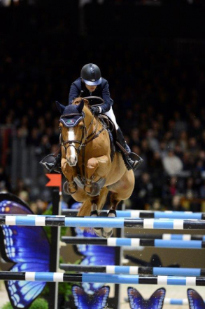 en piste Jumping International de Bordeaux