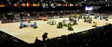 Parcours d'obstacles Jumping International de Bordeaux