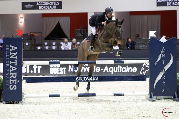 Championnat ANTARES des Partenaires – Epreuves individuelles silver – 1ère place - Antoine Vacheron et Naska