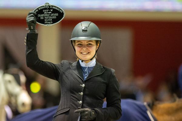 Championnat ANTARES des Partenaires – Finales individuelles Silver – 1ère place – Ines Guyot et Raybane D'Helerin