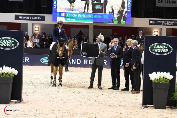 CSI5*W N°6 - Grand Prix LAND ROVER - 1ère Sultane des Ibis et Felicie Bertrand