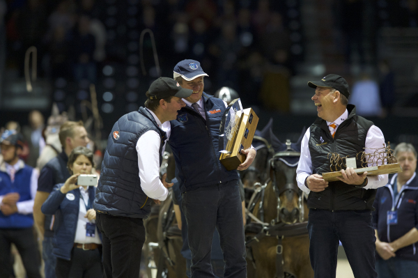 CAIW FINAL n°2 - FEI DRIVING WORLD CUP™ FINAL – Remise des Prix