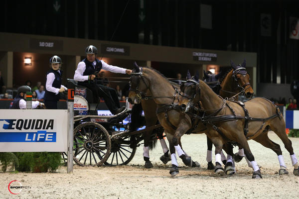 Boyd Exell - 1er du CAIW n°1 - FEI WORLD CUPtm DRIVING presented by EQUIDIA LIFE ©Sportfot / CEB