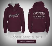 Sweat Officiel Freejump pour le Jumping International de Bordeaux 2017