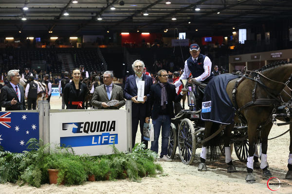 CAIW -FEI World Cup Driving - EQUIDIA LIFE - n°1 Boyd Exell ©Sportfot-CEB